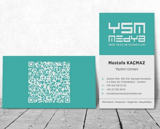YSM Media Kartvizit
